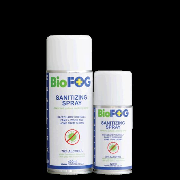 BioFog Sanitizing Spray