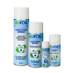 sanitizing spray